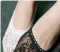 春季单鞋必备 时尚蕾丝玫瑰花型 花边船袜/隐形袜/短袜子