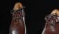 K1515黑色男款牛皮休闲手工皮鞋-凯萨罗帝